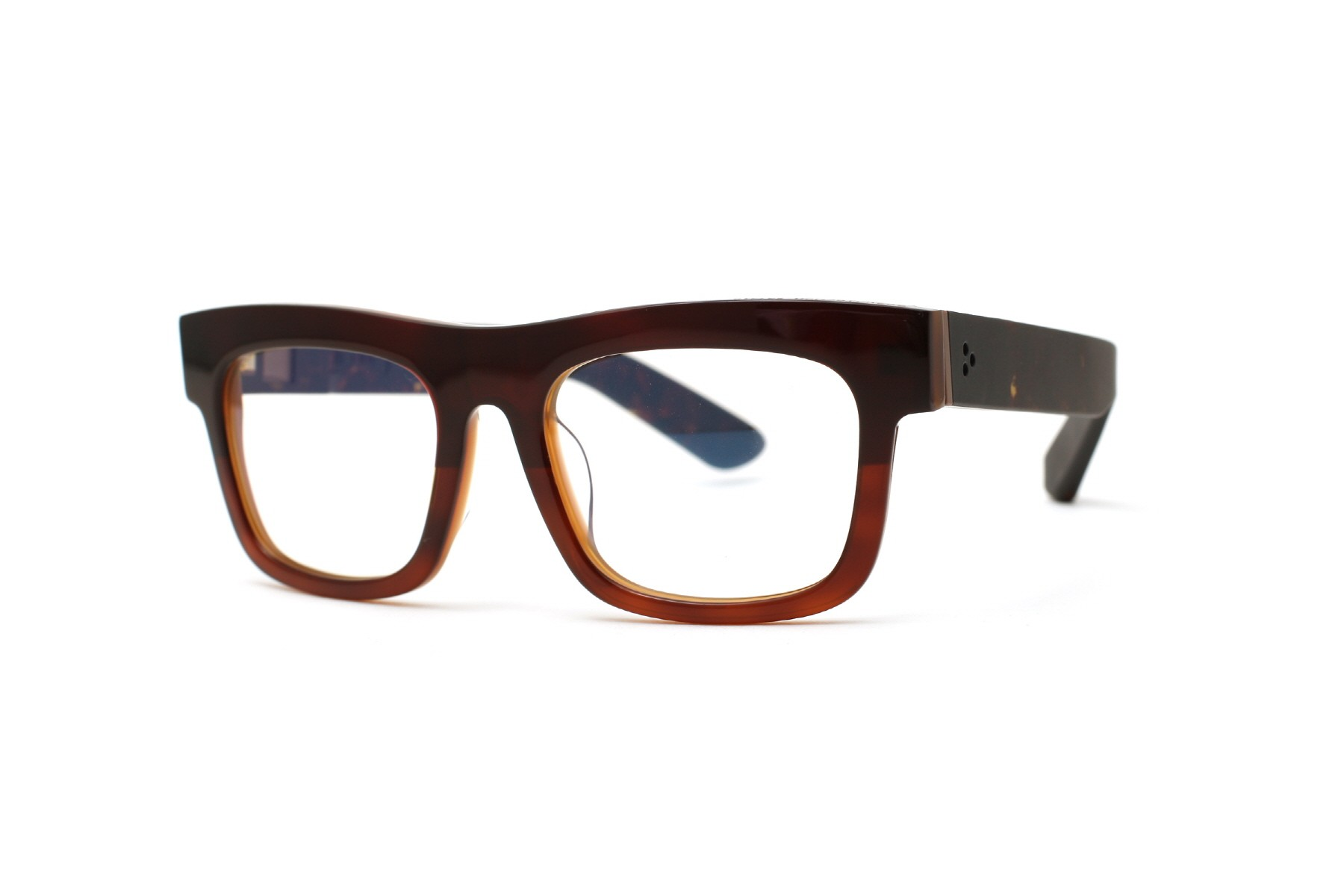 Easy Fraction Brown Two-tone ----- 호피 temple